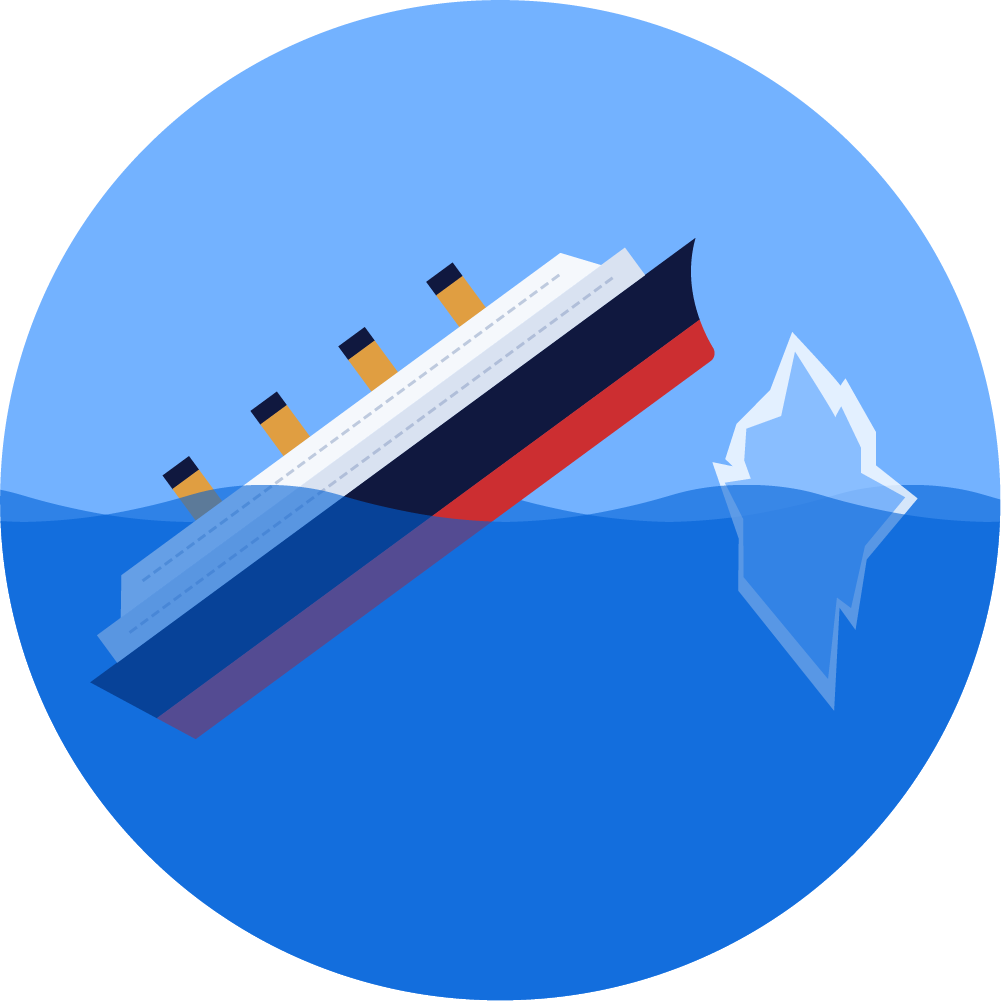 Titanic - CSS Puns T-shirt 👕 & Mugs