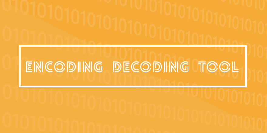 One Click Encoding Decoding Tool - Mobile Friendly