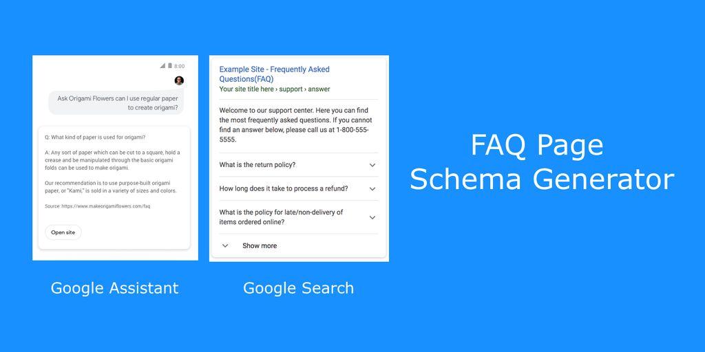 FAQPage JSON-LD Schema Generator